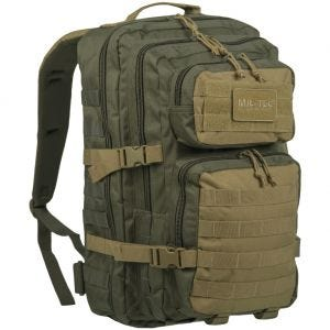 Mil-Tec US Assault Pack Large Ranger Green/Coyote