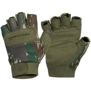 Pentagon 1/2 Duty Mechanic Gloves Greek Lizard