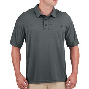 Propper Men's HLX Polo Short Sleeve Charcoal