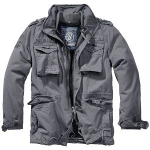 Brandit M-65 Giant Jacket Charcoal Gray