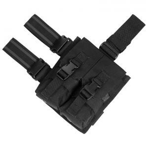 Flyye Drop Leg Double M4/M16 Magazine Pouch Black