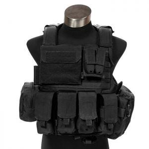 Flyye Force Recon Vest with Pouch Set ver. Land Black