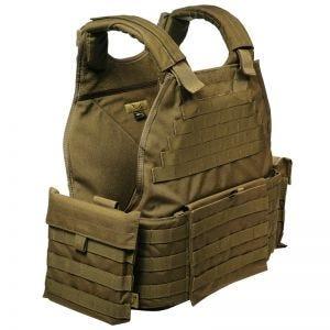 Flyye MOLLE SPC Armor Vest Coyote Brown