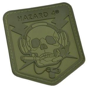 Hazard 4 3D Operator Skull Morale Patch OD Green