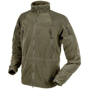 Helikon Stratus Heavy Fleece Jacket Taiga Green