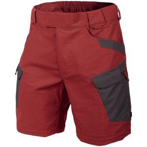 "Helikon Urban Tactical Shorts 8.5"" Crimson Sky / Ash Gray"