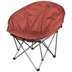 Highlander Moon Chair Burgundy
