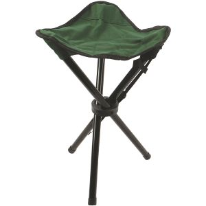 Highlander Steel Tripod Stool Green