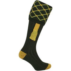 Jack Pyke Diamond Shooting Socks Green
