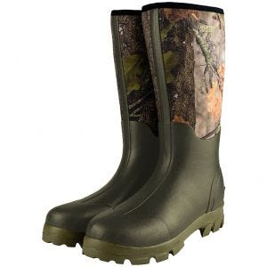 Jack Pyke Neoprene Wellington Boots English Oak Evolution