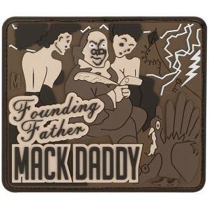Maxpedition Ben Franklin Mack (Arid) Morale Patch