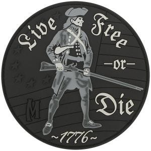 Maxpedition Live Free or Die (SWAT) Morale Patch