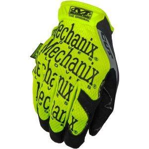 Mechanix Wear CR5 Original Gloves Hi-Viz Yellow Gray