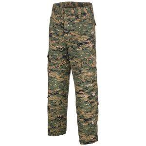MFH ACU Combat Trousers Ripstop Digital Woodland