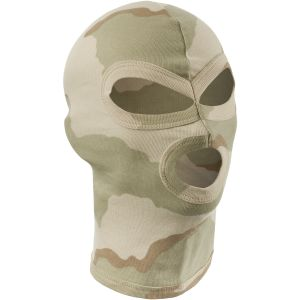 MFH 3 Hole Balaclava Lightweight Cotton 3-Color Desert