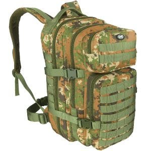 MFH Backpack Assault I Vegetato Woodland
