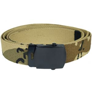 Mil-Tec Webbing Belt 6-Color Desert