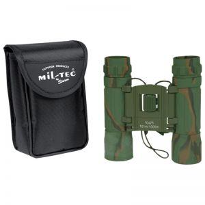 Mil-Tec Foldable Binocular 10x25 Camo