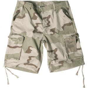 Paratrooper Cargo Shorts Prewashed 3-Color Desert