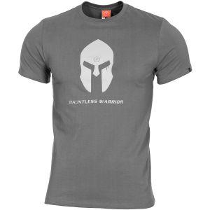 Pentagon Ageron T-Shirt Spartan Helmet Wolf Grey