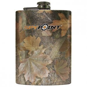SpyPoint 8oz Stainless Steel Flask