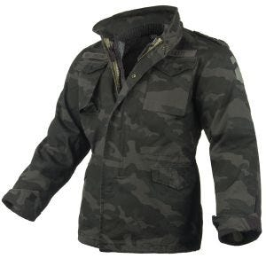 Surplus M65 Regiment Jacket Black Camo