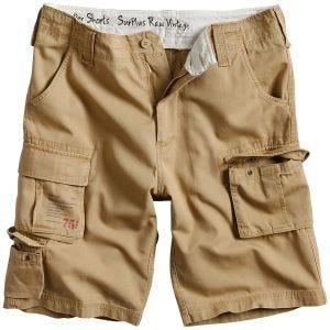 Surplus Trooper Shorts Beige Washed