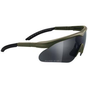 Swiss Eye Raptor Glasses Olive Frame