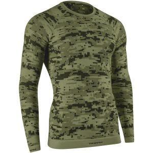 Tervel Optiline Digital Shirt Long Sleeve Military / Gray