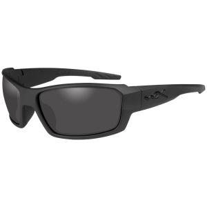 Wiley X WX Rebel Glasses - Smoke Gray Lens / Matte Black Frame