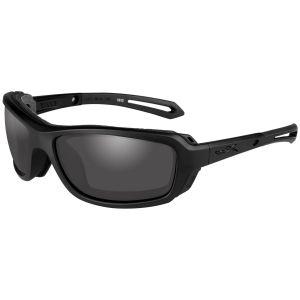 Wiley X WX Wave Glasses - Smoke Gray Lens / Matte Black Frame