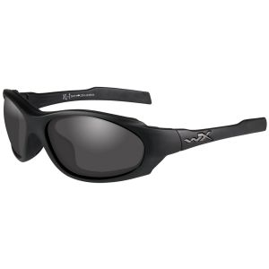Wiley X XL-1 Advanced COMM Glasses - Smoke Gray + Clear + Light Rust Lens / Matte Black Frame
