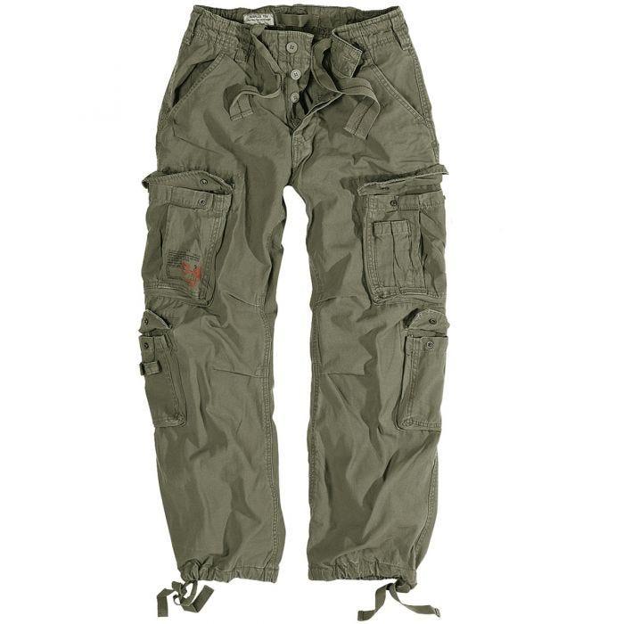 Surplus Airborne Vintage Trousers Olive