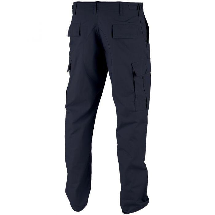 Teesar BDU Trousers Ripstop Navy Blue