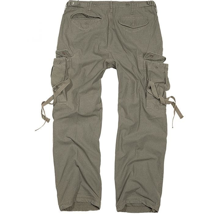 Brandit M-65 Vintage Trousers Olive 11236adccf7