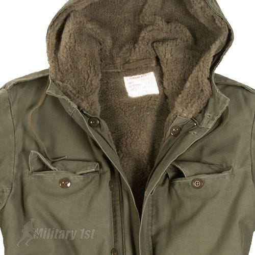 German Army Parka with Liner Olive