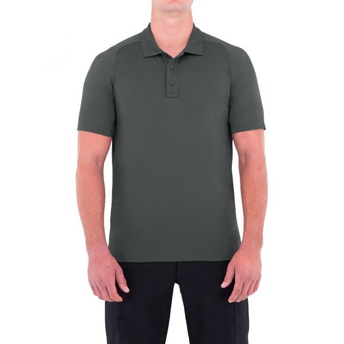 First Tactical Men's Performance Short Sleeve Polo Asphalt