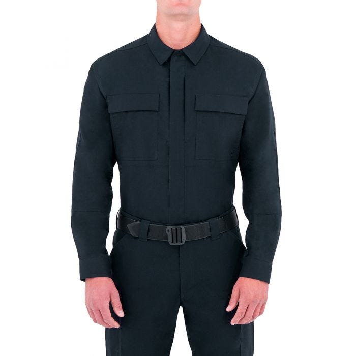 First Tactical Men's Specialist Long Sleeve BDU Shirt Midnight Navy