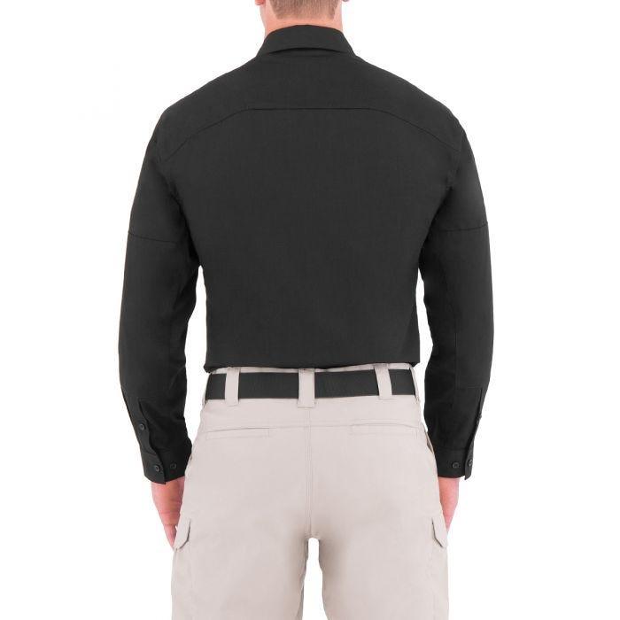 First Tactical Men's Specialist Long Sleeve Tactical Shirt Black