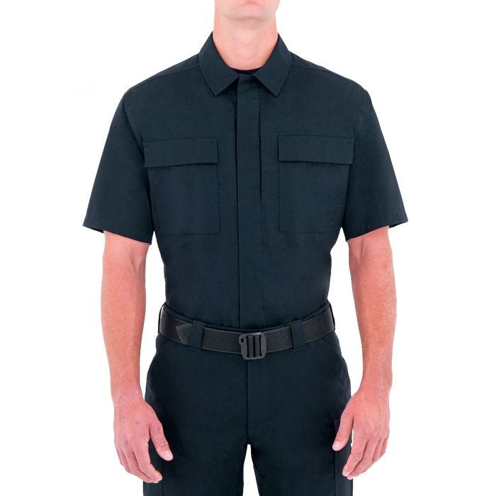 First Tactical Men's Specialist Short Sleeve BDU Shirt Midnight Navy