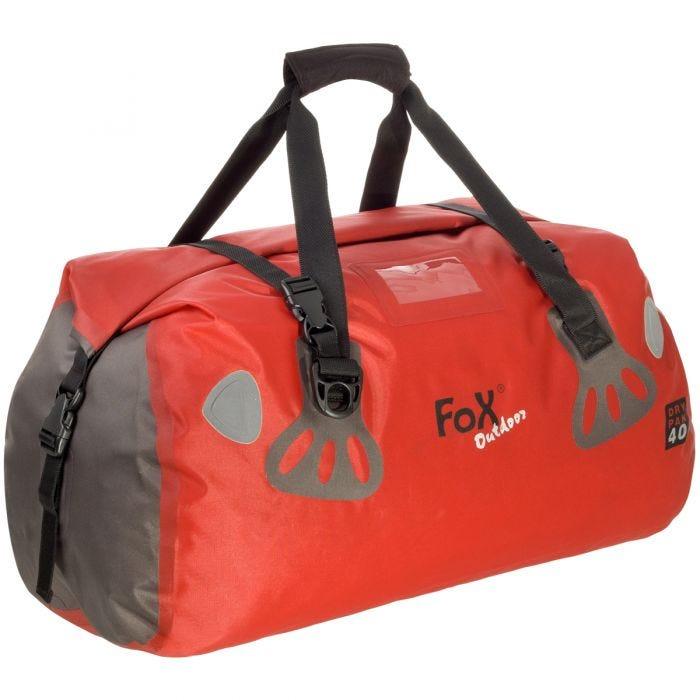 Fox Outdoor Waterproof Duffle Bag Dry Pak 40 Red 1 Jpg