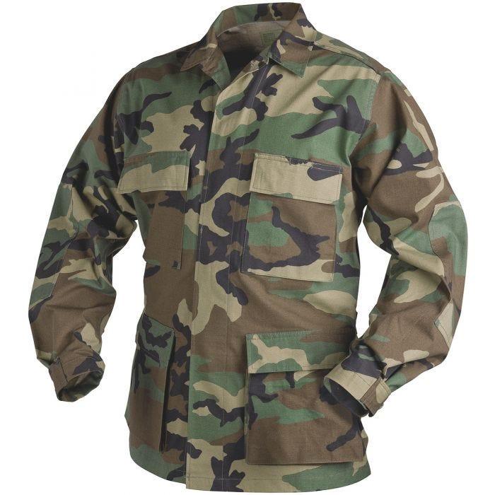 Helikon Genuine BDU Shirt Polycotton Ripstop Woodland