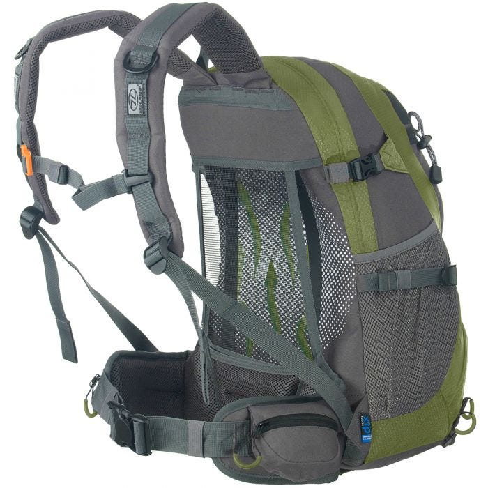 Highlander Summit 25L Backpack Green