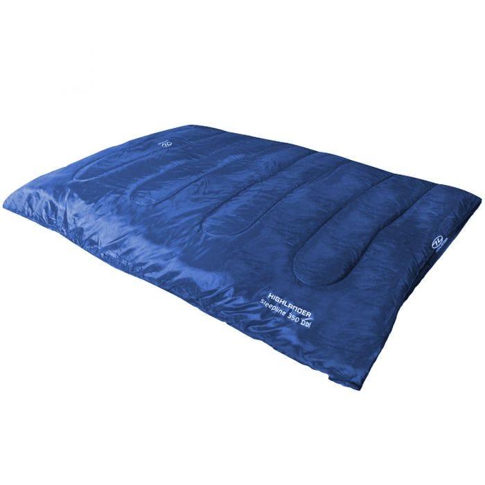 Highlander Sleepline 350 Double Sleeping Bag Blue