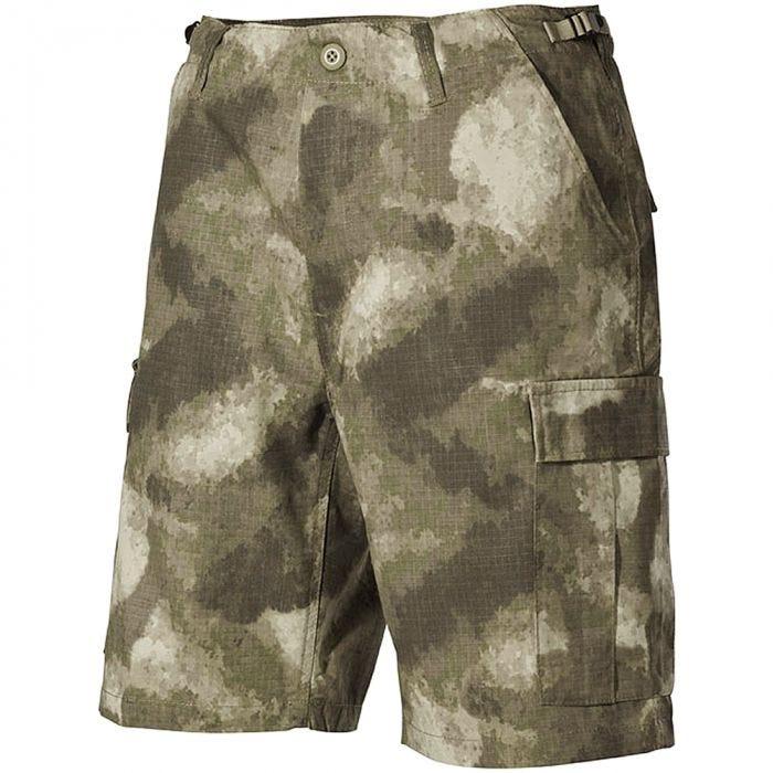 MFH US BDU Bermuda Shorts HDT Camo AU