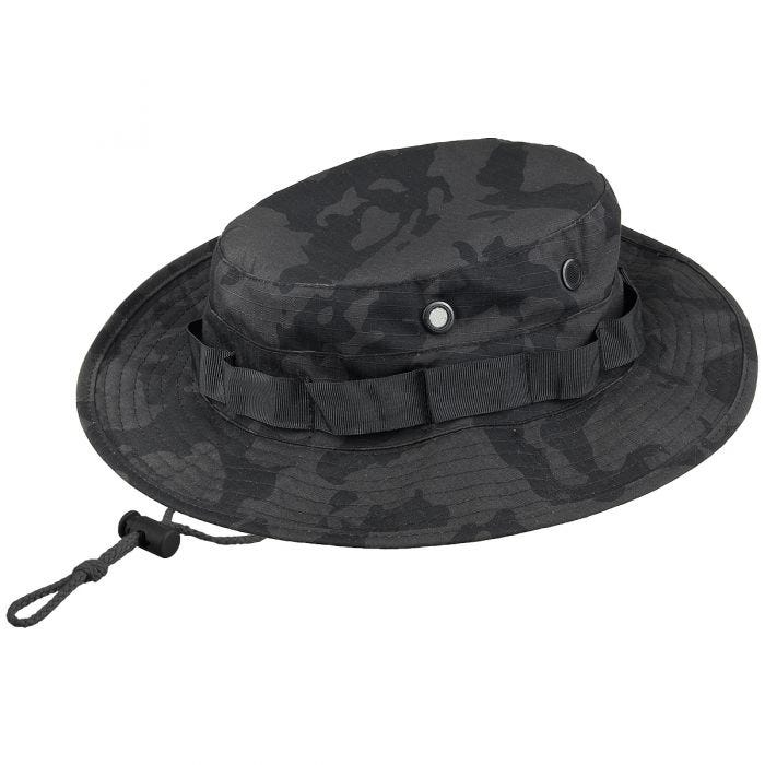 MFH GI Ripstop Bush Hat Night Camo