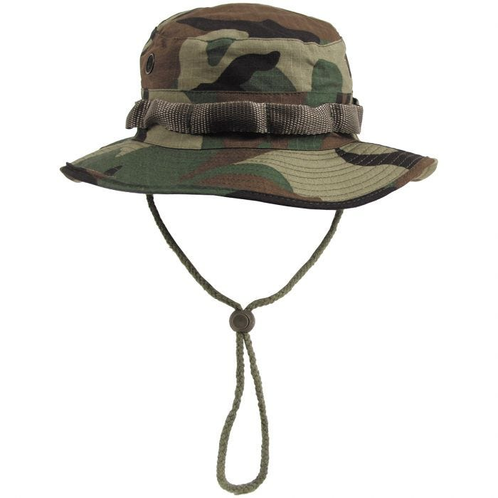 GI Ripstop Bush Hat Woodland