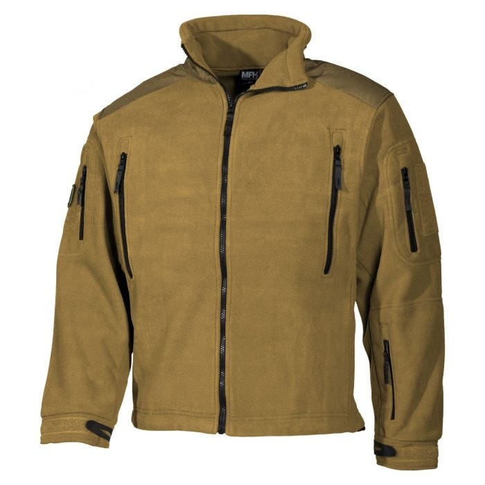 MFH Heavy Strike Fleece Jacket Coyote Tan af998e6a678