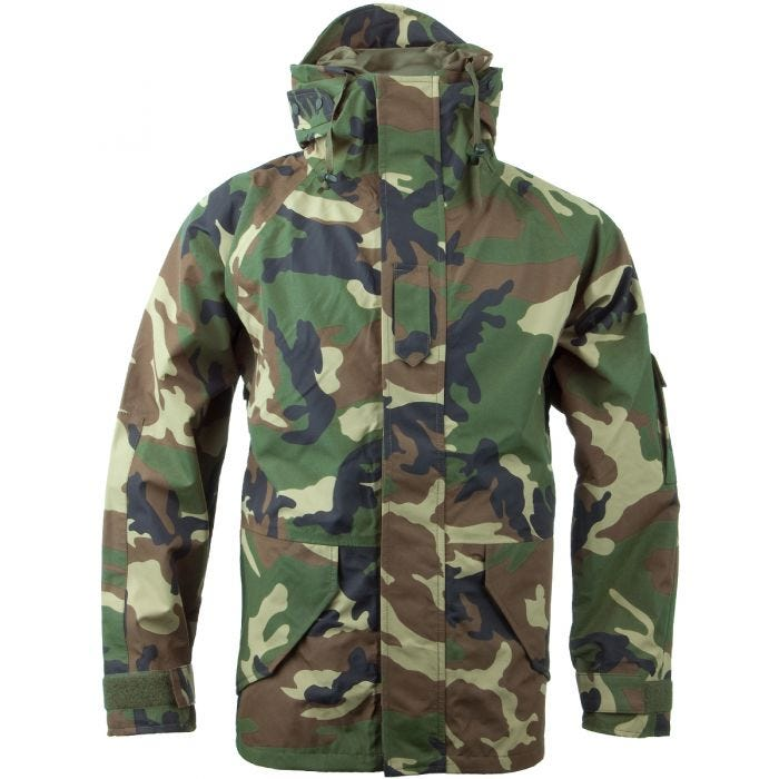 Mil-Tec Wet Weather Trilaminate Jacket Woodland