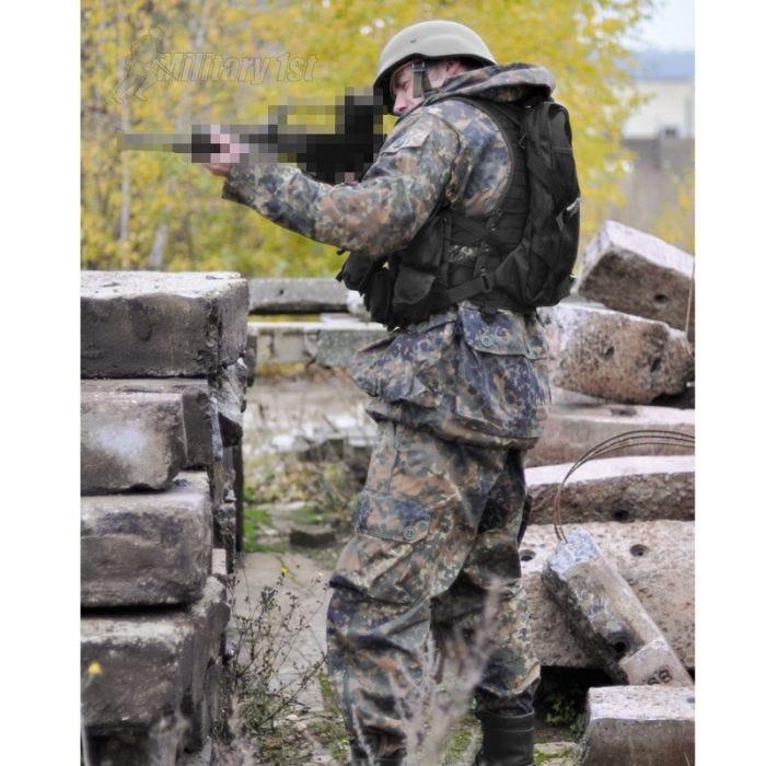 Mil-Tec AK74 Vest with Pouches Black